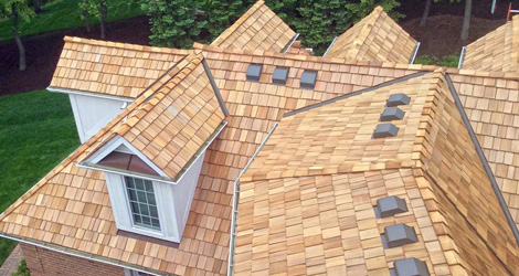 Cedar Shakes Roofing Contractor North VA MD DC Centreville Virginia