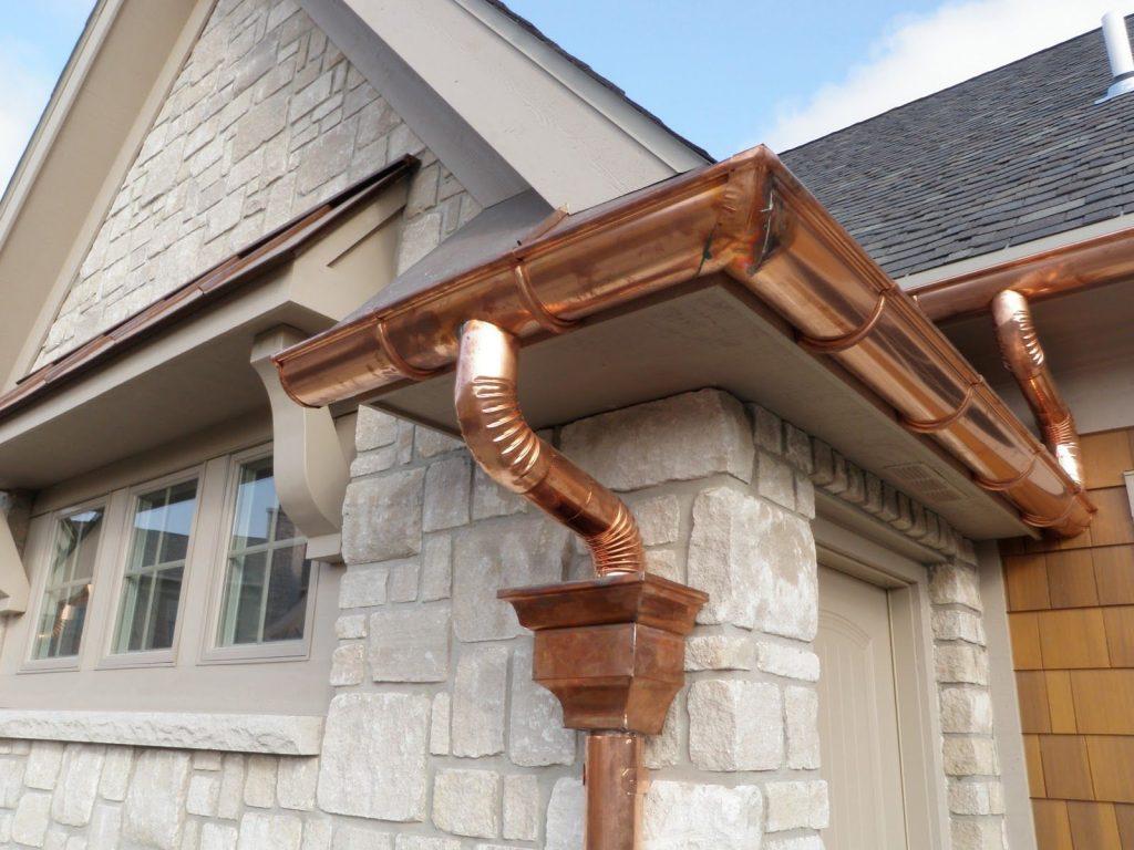 Copper Gutters Contractor North VA Fairfax Arlington VA Counties