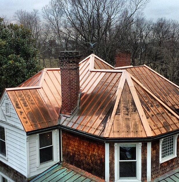 Copper Roofing Contractor North VA Maryland Wash DC Arlington County