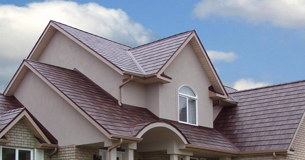 Metal Roofing Contractor Northern Virginia Fairfax County Brown Red Style